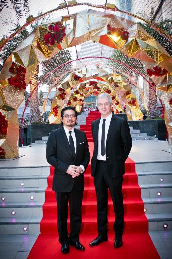 The Railway Man - Writer Producer Andy Paterson with Actor Hiroyuki Sonada.jpg