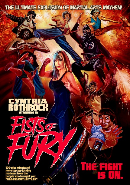 FISTS OF FURY: Cynthia Rothrock Explores Old School Kung Fu, on DVD