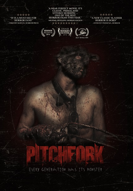 Giveaway: Win a Copy of Indie Horror PITCHFORK on DVD