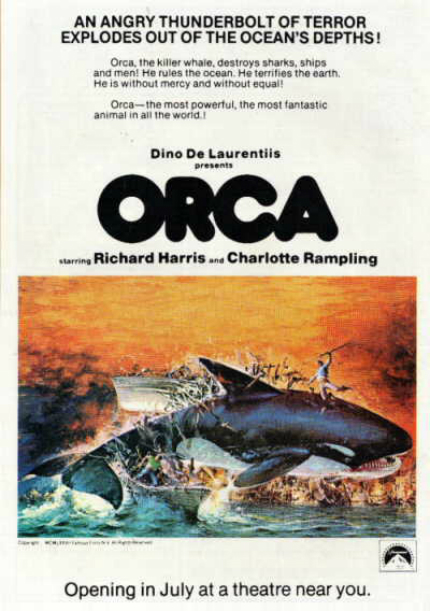 70s Rewind: ORCA, The Beached Whale of Killer Shark Movies