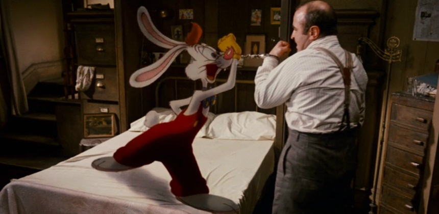 10+ Years Later: WHO FRAMED ROGER RABBIT, Much More Than a Spine ...