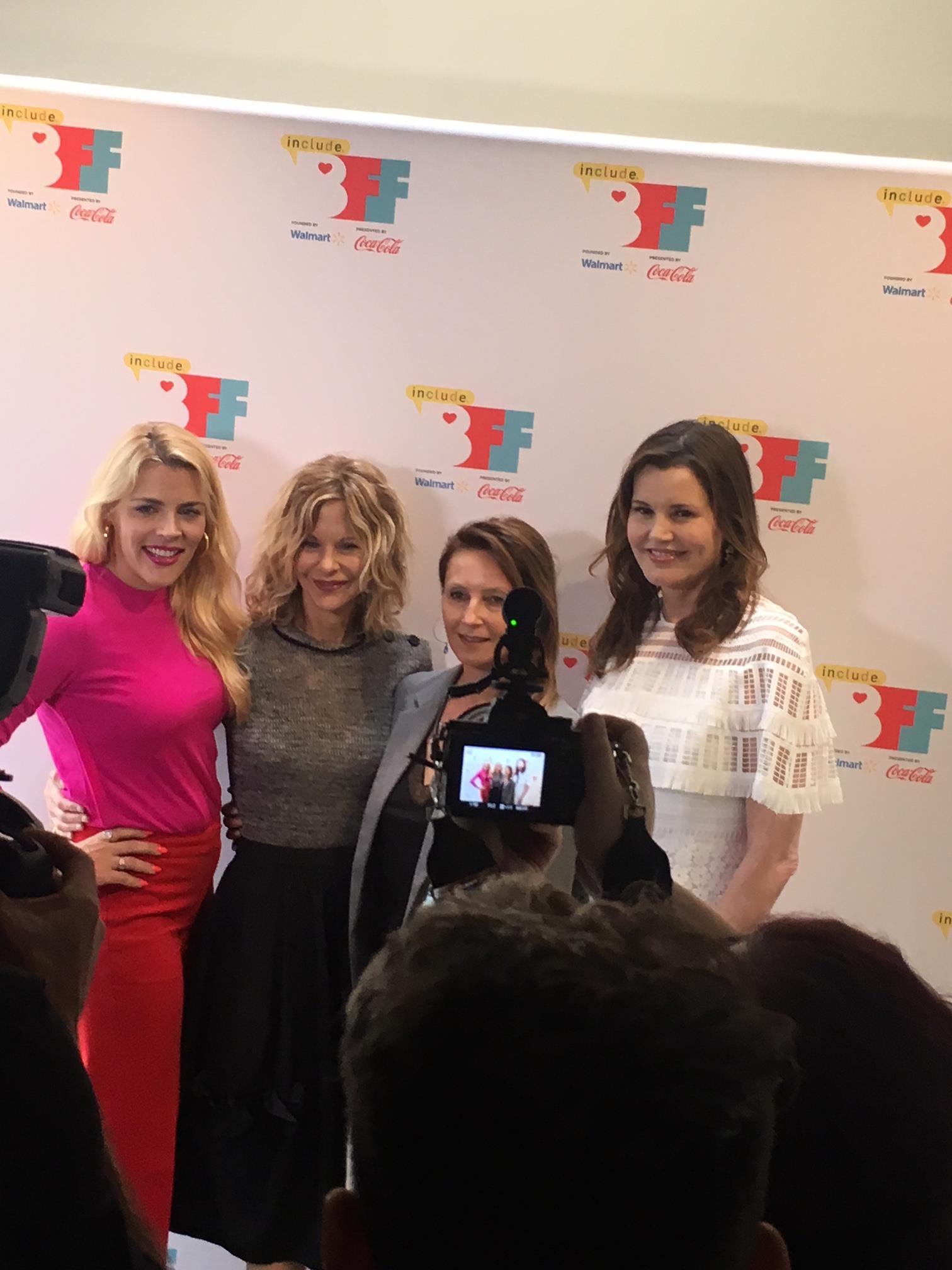 BFF 2018 - Busy Philipps, Meg Ryan, Wendy Guererro, Geena Davis  5.4.18 (Photo by Wildman).JPG