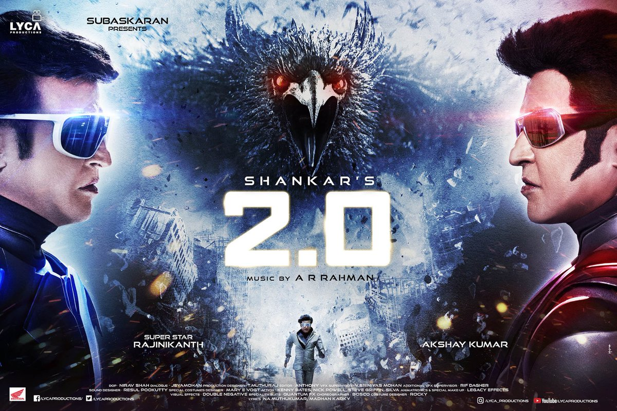 Review: Shankar's 2 0 Cranks Up The Crazy, But Forgets To