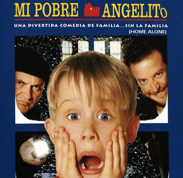 home alone in spanish