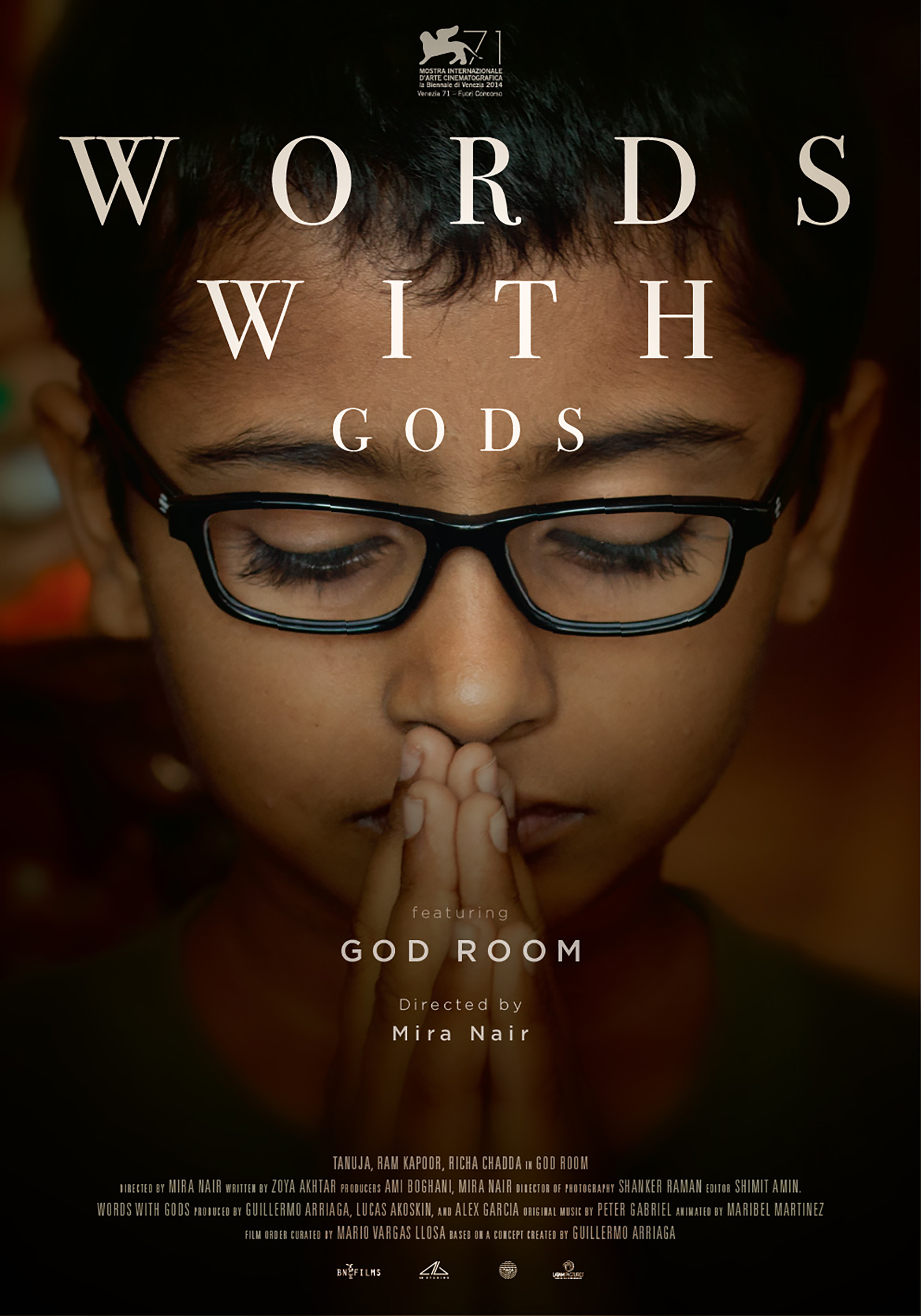Exclusive Posters For WORDS WITH GODS Tease New Work By Alex