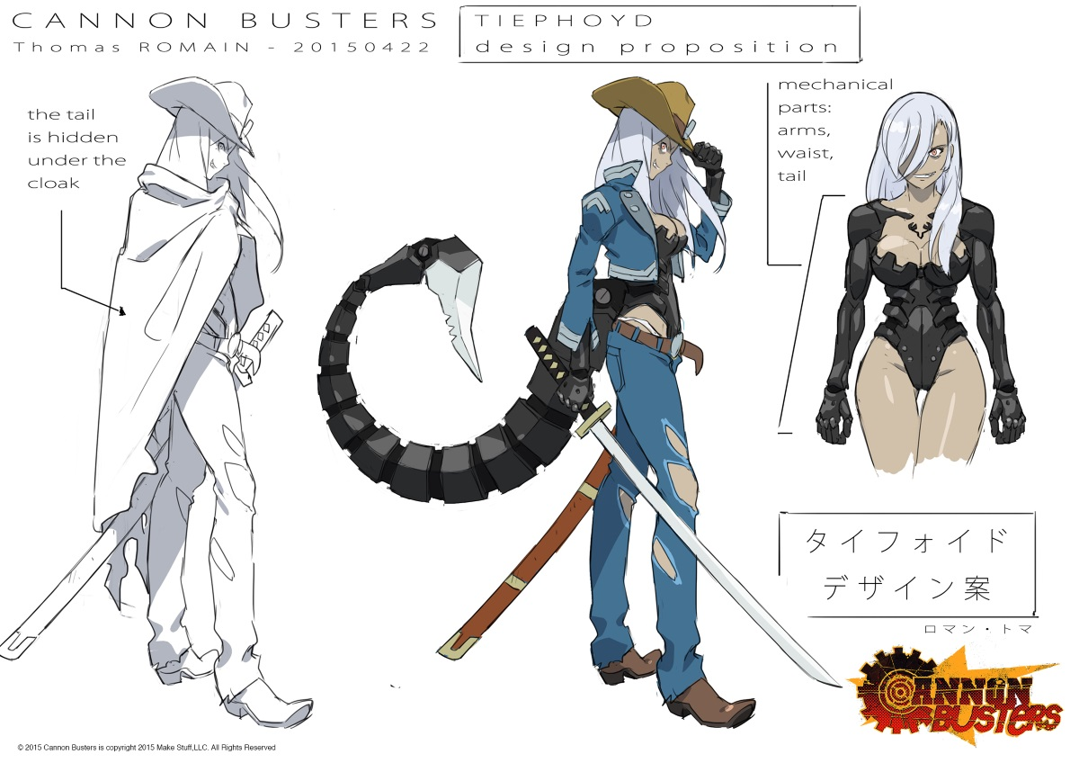 CANNON BUSTERS: Check Out This Great Concept Art (And A