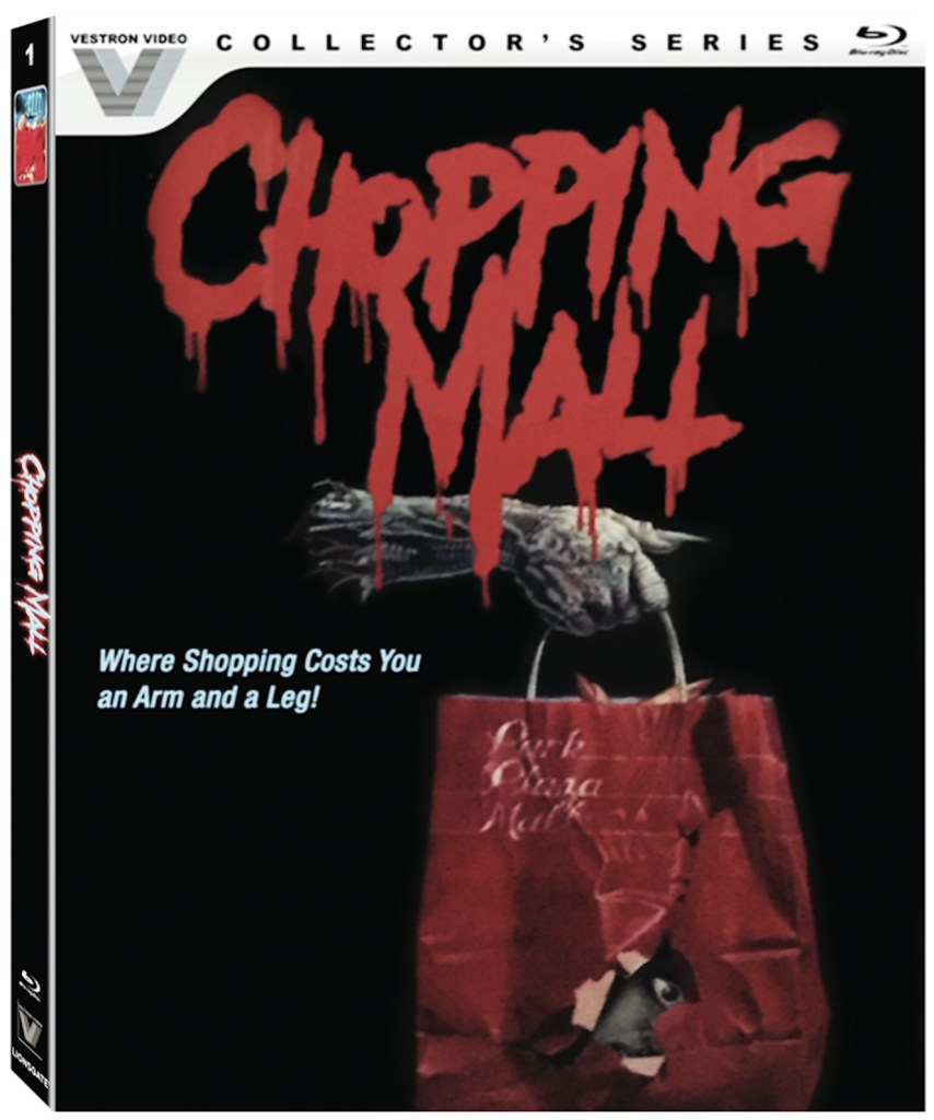 now on blu-ray: enjoy some halloween screams from chopping mall