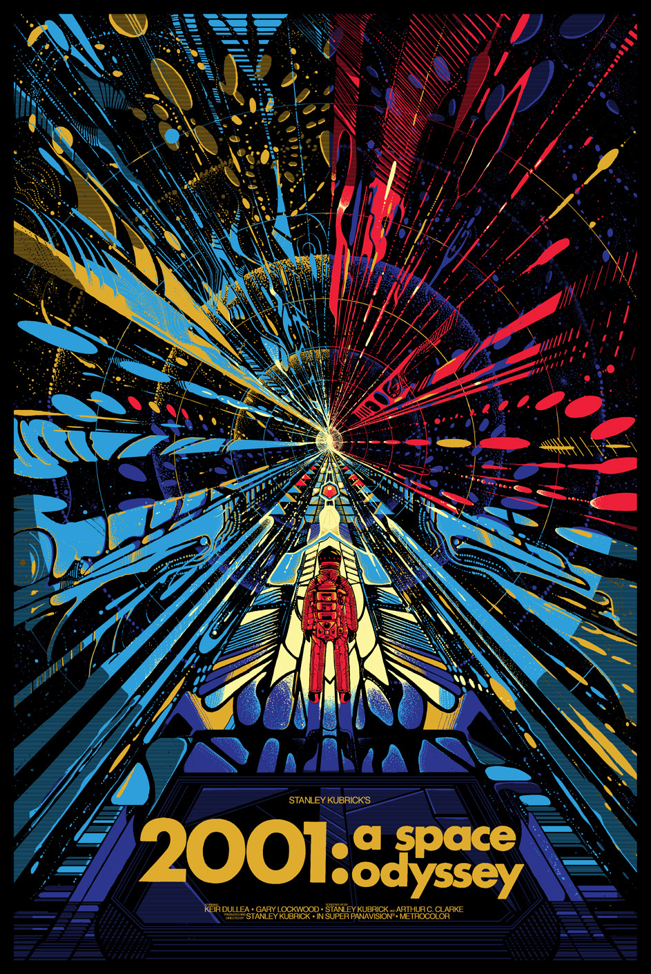 Friday One Sheet The Legacy Of 2001 A Space Odyssey
