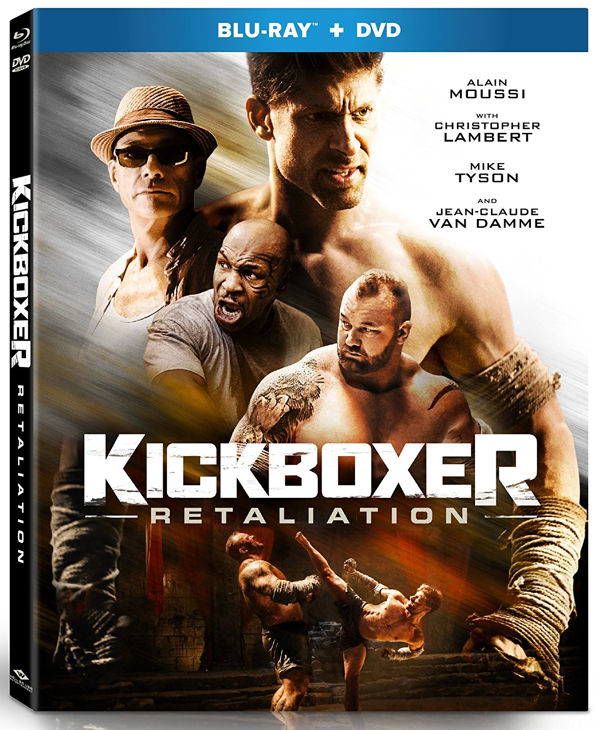 Now on Blu-ray: JCVD Then And Now, BLACK EAGLE and KICKBOXER