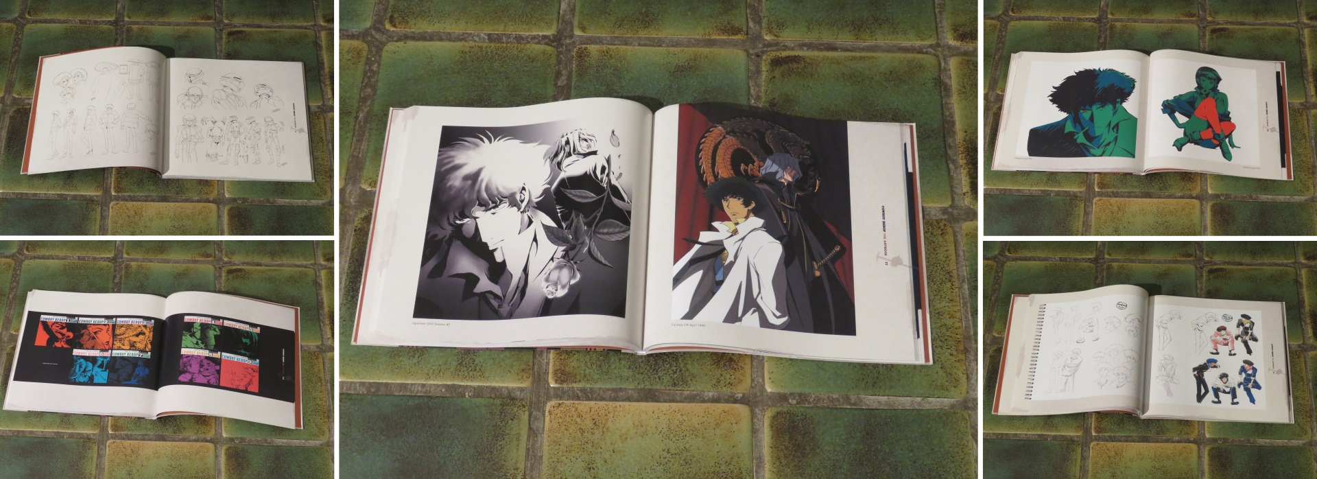 Talk About Cowboy Bebop illustration art book