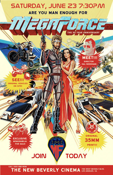 MEGAFORCE And The New Beverly Cinemas Are Calling To You This Saturday!