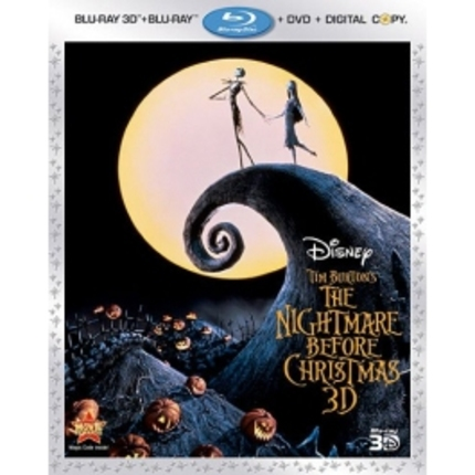 THE NIGHTMARE BEFORE CHRISTMAS 3D COMBO PACK