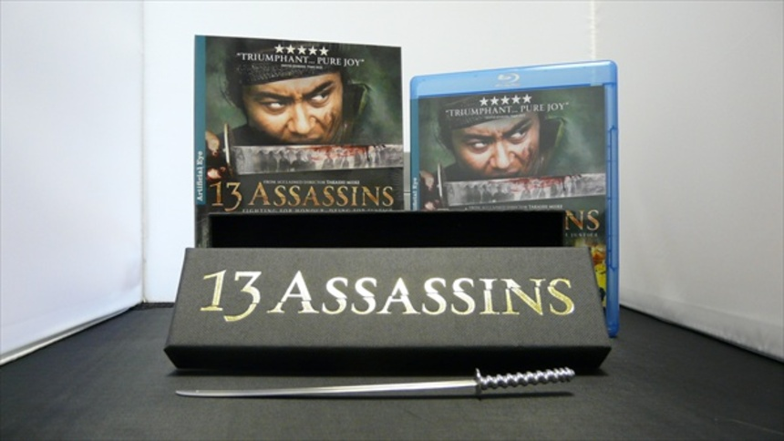 Hey UK! Win a 13 ASSASSINS Sword and Blu-ray!