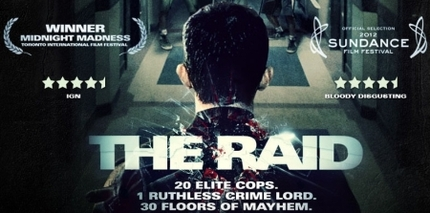 Blu-ray Review: THE RAID (Australia-NZ Edition)
