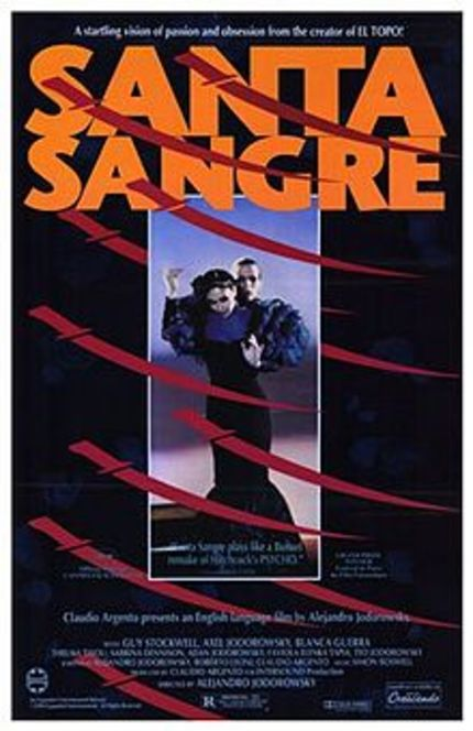 35 mm Double Feature of SANTA SANGRE and THE LAST CIRCUS in Chicago? YES, PLEASE.