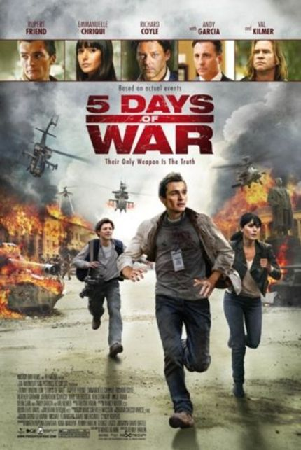 US Trailer for Renny Harlin's New Film 5 DAYS OF WAR Is Here!