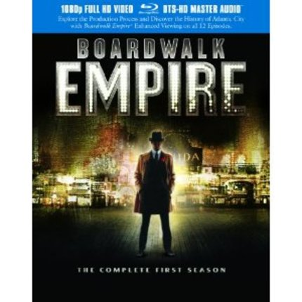 BOARDWALK EMPIRE THE COMPLETE FIRST SEASON BluRay
