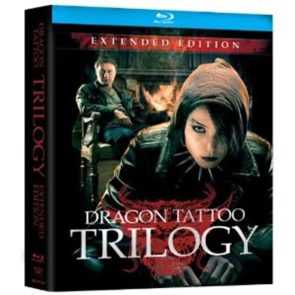 DRAGON TATTOO TRILOGY:EXTENDED EDITION on BLURAY