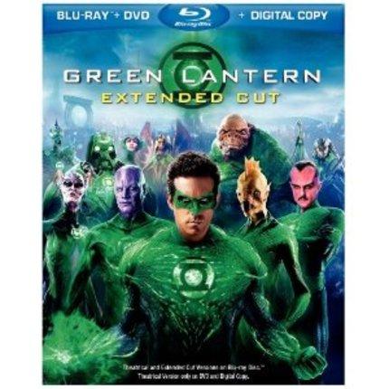 GREEN LANTERN Bluray, DVD And Ultraviolet Digital Copy