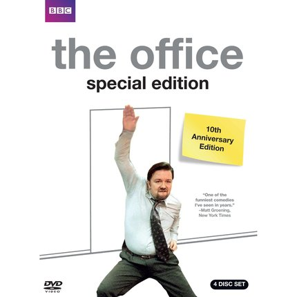 THE OFFICE 10TH ANNIVERSARY is being celebrated on DVD?