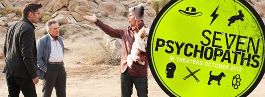 Christopher Walken Dominates Hysterical SEVEN PSYCHOPATHS Trailer