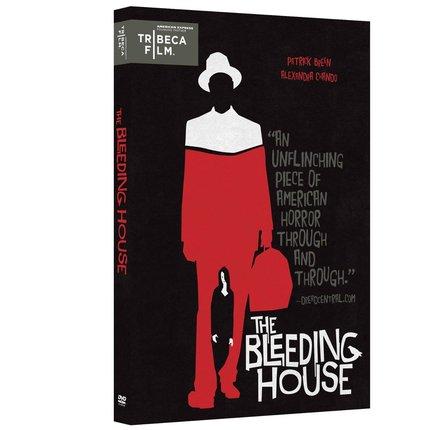 Don't Miss THE BLEEDING HOUSE on DVD
