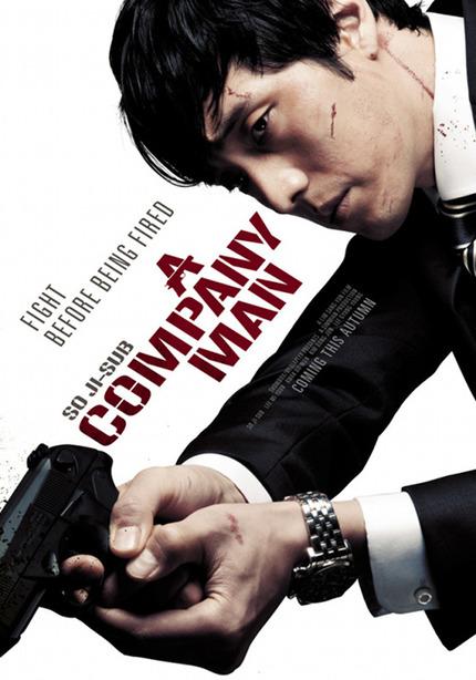 New Poster For Korean Hitman Thriller A COMPANY MAN