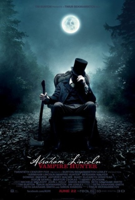 Wildly Over The Top Red Band ABRAHAM LINCOLN: VAMPIRE HUNTER Trailer