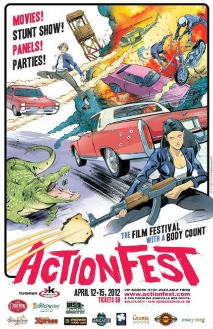 ActionFest 2012 Award Winners