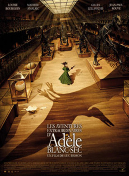 Mummies! Pterodactyl! Occultist!  It's the Trailer for Luc Besson's ADELE BLANC-SEC