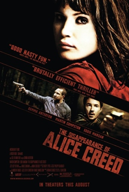 Watch The First Five Minutes Of J Blakeson's Fantastic Thriller THE DISAPPEARANCE OF ALICE CREED!