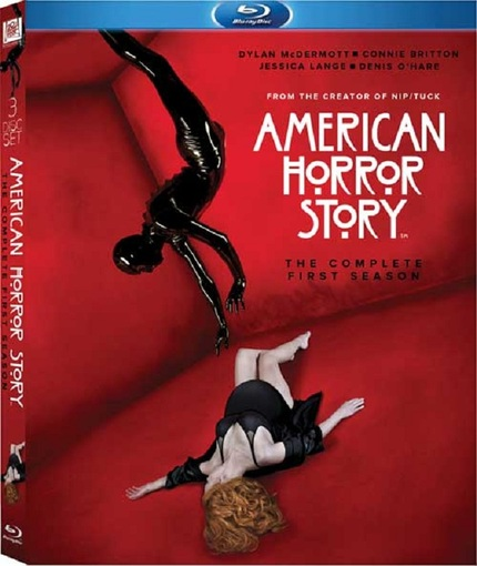 Contest: Win an AMERICAN HORROR STORY Season 1 Blu-ray Prize Pack