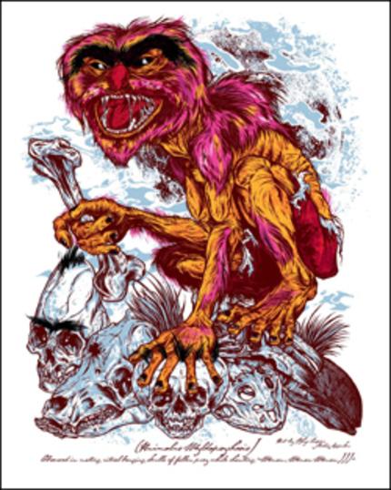 Poster Alert! Muppets gone wild.