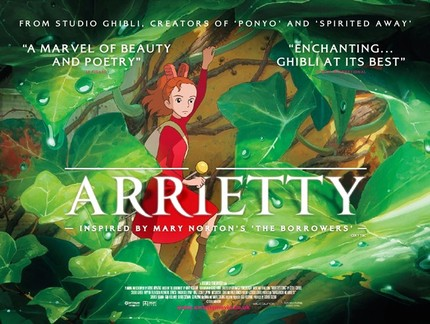 UK Dub Trailer For Studio Ghibli's ARRIETTY