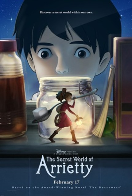 New Clips From Studio Ghibli's THE SECRET WORLD OF ARRIETTY
