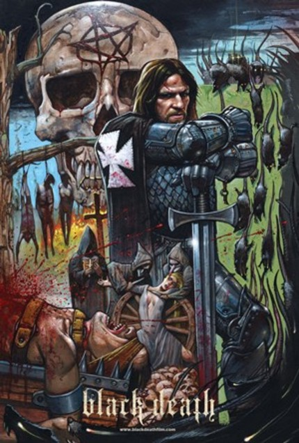 Win A Signed Simon Bisley BLACK DEATH Poster, Plus More!
