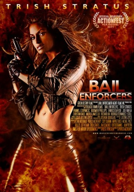 ActionFest Presents A Chick Fight! It's The Trailer For Trish Stratus' BAIL ENFORCERS