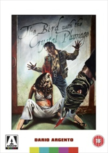 Arrow Video's Blu-ray of THE BIRD WITH THE CRYSTAL PLUMAGE
