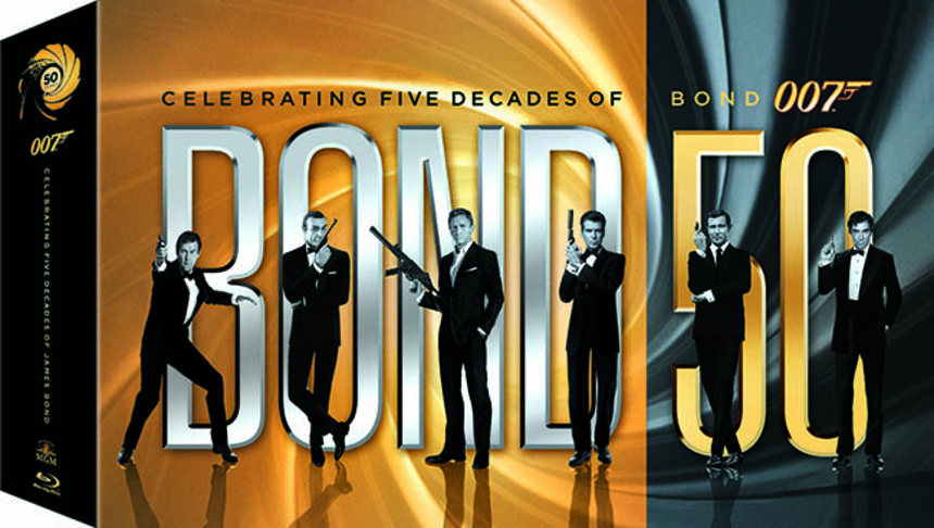 Contest: The Big BOND 50 Blu-ray Giveaway