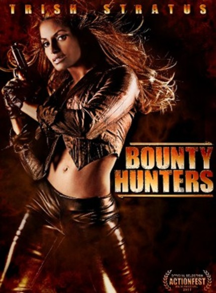 Trish Stratus Goes Schoolgirl In Exclusive BOUNTY HUNTERS Fight Scene