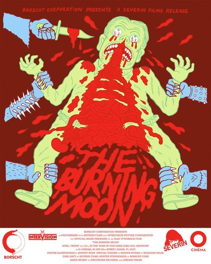Win A Custom THE BURNING MOON Poster From ScreenAnarchy, Intervision, & Borscht Corp!