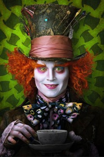 Tim Burton Would Like Someone To Clothe That Enormous Girl In The New ALICE IN WONDERLAND Clip.