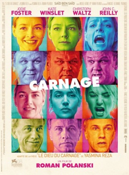 US Trailer For Polanski's CARNAGE Features Less Swearing, More Christoph Waltz.