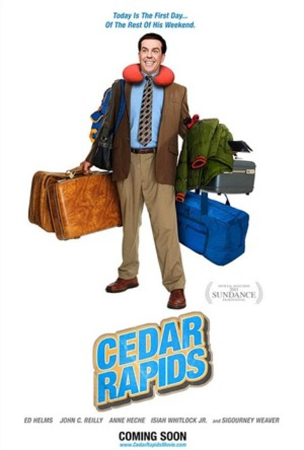 CEDAR RAPIDS: An Innocent Man in Rowdy Middle America (Review)