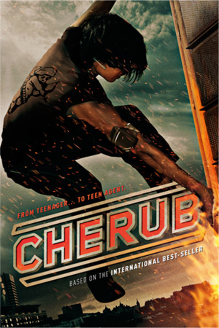 First Art For Chris Smith's Teen Action Flick CHERUB: THE ...