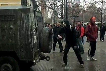 Chilean Spoonkiller Attacks Special Forces Vehicle