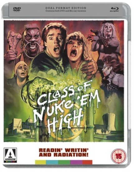 Arrow Video Announces A Tromatic Q3 With CLASS OF NUKE' EM HIGH & More, Plus LADY SNOWBLOOD On Blu-ray!