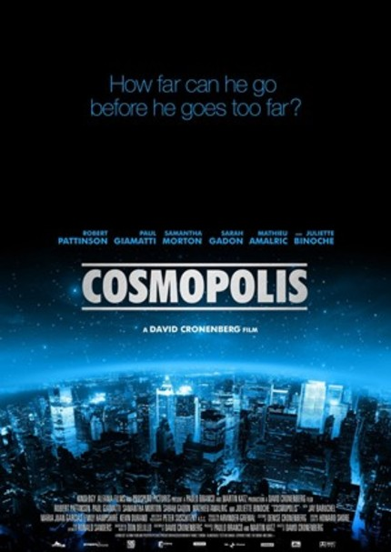 Cronenberg Gets His Freak On In First COSMOPOLIS Teaser