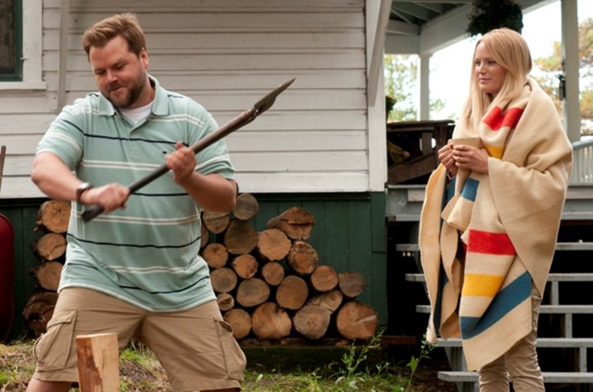 Brotherly Love With An Axe In COTTAGE COUNTRY
