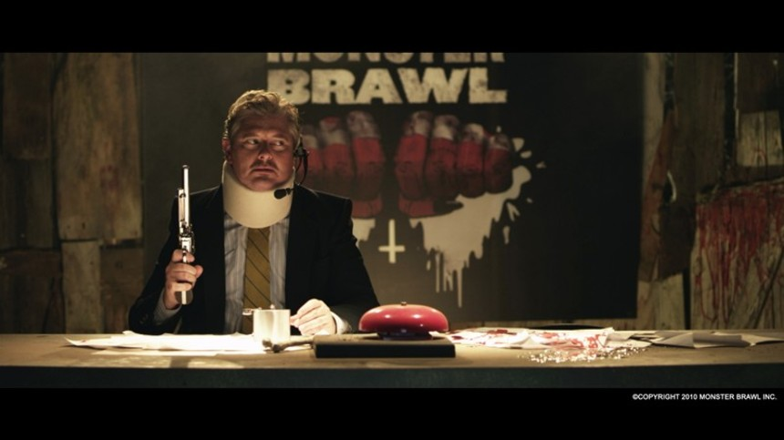 Dave Foley Presides Over The MONSTER BRAWL